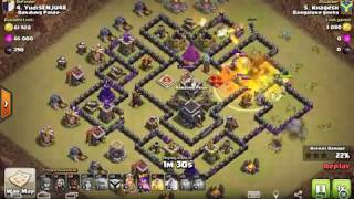 2017 - Updated GoVaHo - The BEST TH9 War Attack Strategy of All Time - Clash of Clans