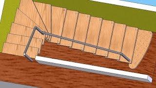 Самый простой способ расчета лестницы своими руками(Простая методика самостоятельного проектирования лестницы для дома и дачи. Рассказывается как самому..., 2014-12-15T18:51:47.000Z)