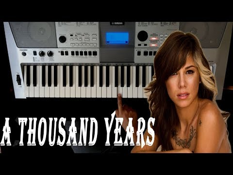 Como Tocar A THOUSAND YEARS en PIANO  Tutorial  Christina Perri