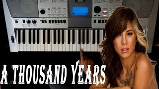 "Baixar Como Tocar ""A THOUSAND YEARS"" en PIANO - Tutorial  Christina Perri"