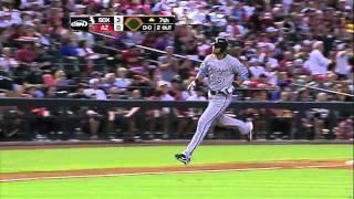 2011/06/19 Rios' solo home run