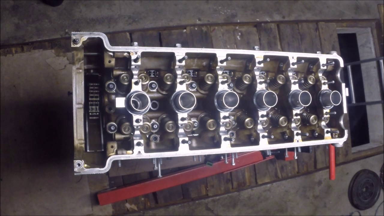 Bmw S54b32 E46 M3 Engine Assembly Rebuild Timelapse