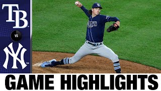 Rays score two in 8th to down Yankees   Rays-Yankees Game Highlights 8/19/20