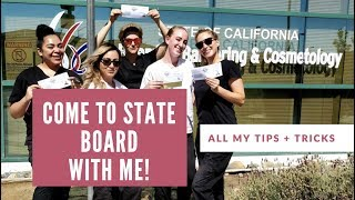 How To Pass State Board! Vlogging My Prep.