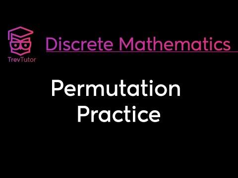 [Discrete Math 1] Permutation Practice