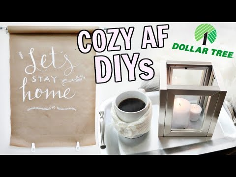 Cozy AF Dollar Tree DIYs You Have To Try