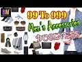 99 to 999 store| men's accessories shop | accessories business plan | Business Mantra