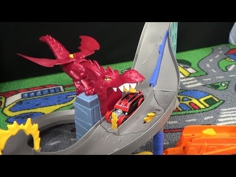 Hot Wheels Dragon Destroyer Product Demonstration