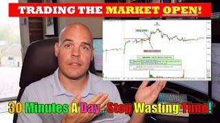 Make a Living in 30 Minutes a Day Trading The Pre-Market Play