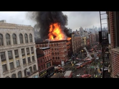 New York buildings collapse after explosion in Manhattan: Breaking News