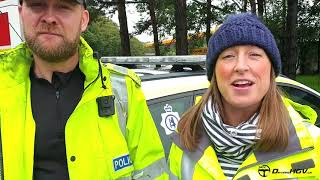 Warwickshire police and Highways England safety checks action on the M