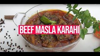Beef Masala Karahi Recipe in urdu Cook with Tahira