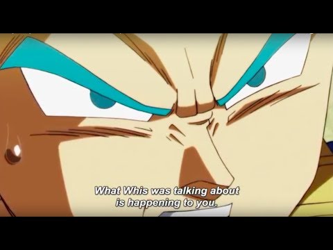 Vegeta figures out what Ultra Instinct really is and swears to master it before Goku