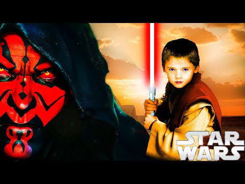 What If Darth Maul Trained Anakin Skywalker? Star Wars Fan Fiction