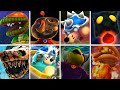 Super Mario Galaxy - All Boss KO Animations