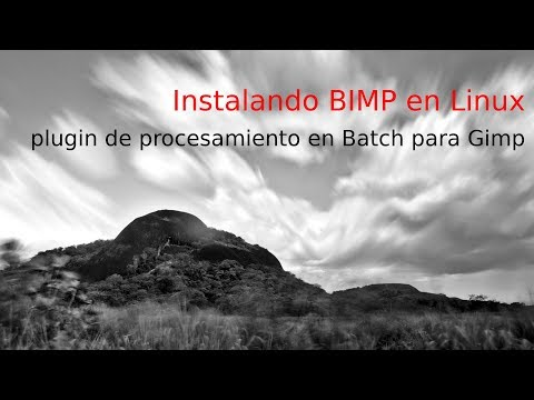 Como instalar BIMP - BATCH Image Manipulation Plugin para Gimp en Linux