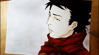 Drawing Vincent Law 🎭 Ergo Proxy (free time)