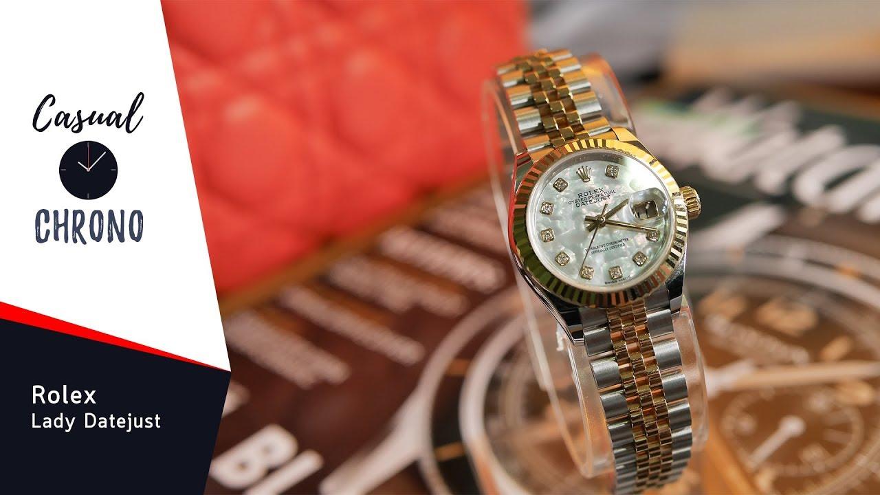 รีวิว Rolex Lady Datejust โรเล็กซ์เรือนแรกของคุณผู้หญิง