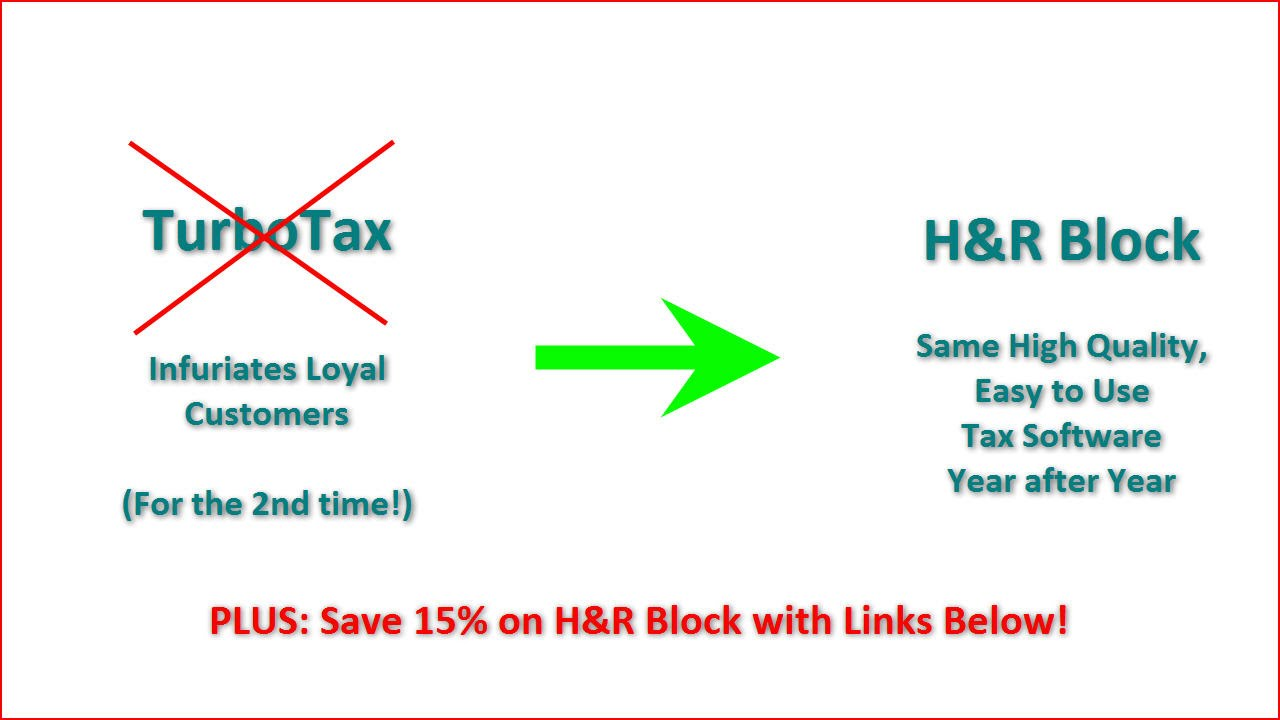 Turbotax Users Outraged Use H R Block For Online Tax Preparation