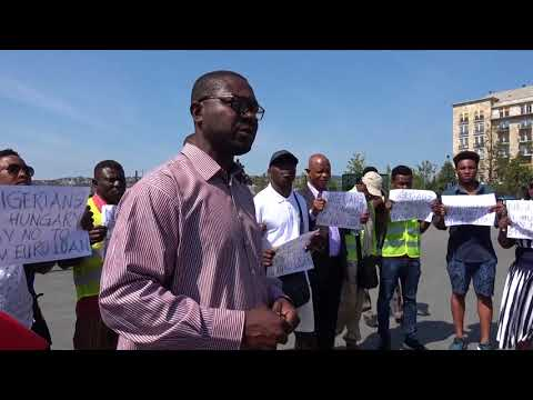 Nigerian protest in Hungary against €54million loan from Hungarian Gov't