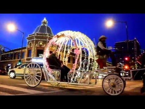 KCPL Plaza Lights, Kansas City, Missouri, 2015   YouTube