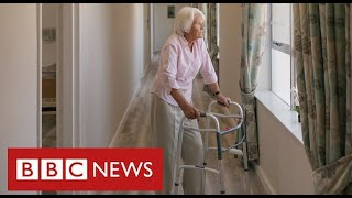 "Ban on care home visits is ""breach of human rights"" say relatives planning legal action - BBC News"