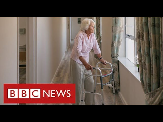 "Relatives say ban on care home visits is ""breach of human rights"" and plan legal action - BBC News"