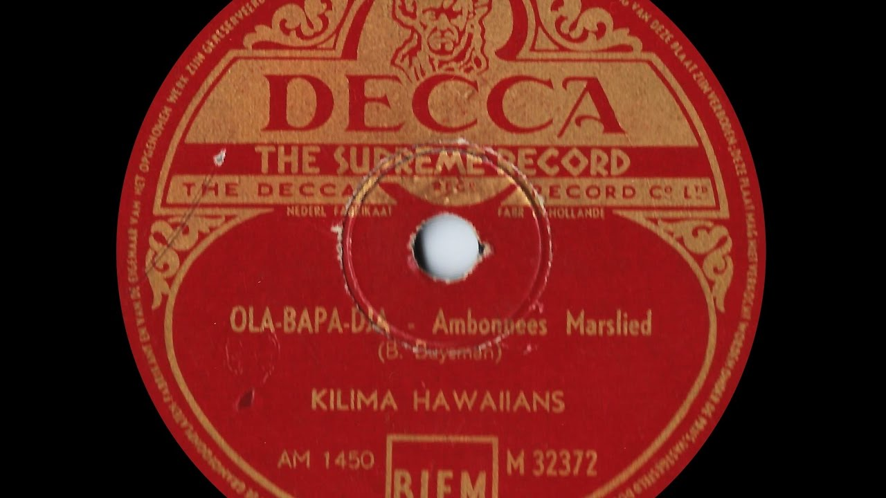 De Kilima Hawaiians* Kilima Hawaiians, The - The Best Of The Kilima Hawaiians
