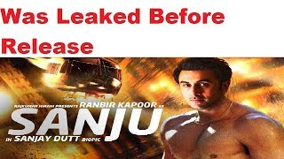 SANJU was leaked in hd before its release on torrent  Advance Knowledge