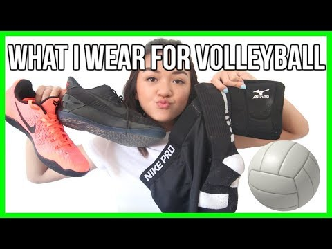 WHAT I WEAR FOR VOLLEYBALL // Volleyball Favorites | Maiphammy