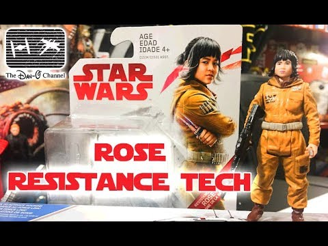 Star Wars The Last Jedi | Rose (Resistance Tech) Force Link Action Figure | The Dan-O Channel