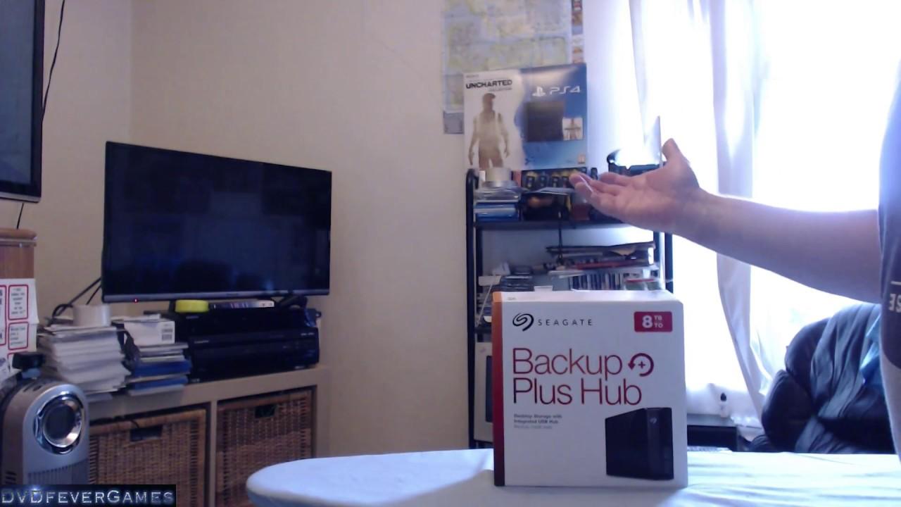 Seagate Backup Plus Hub 8TB - Unboxing - YouTube 50e81f6f93
