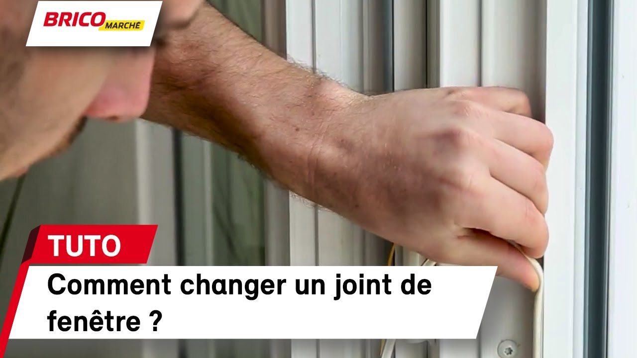 Comment Changer Un Joint De Fenetre Bricomarche Youtube