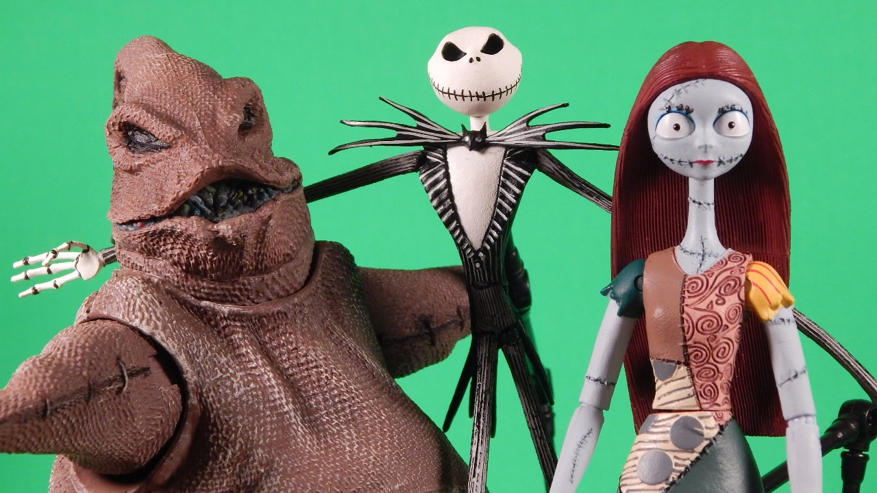 The Nightmare Before Christmas Select Review Jack Sally Oogie Boogie ...