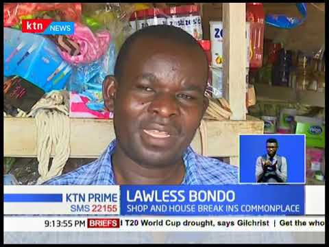 Lawless Bondo: Robery ring and thugs torments Ugenya residents