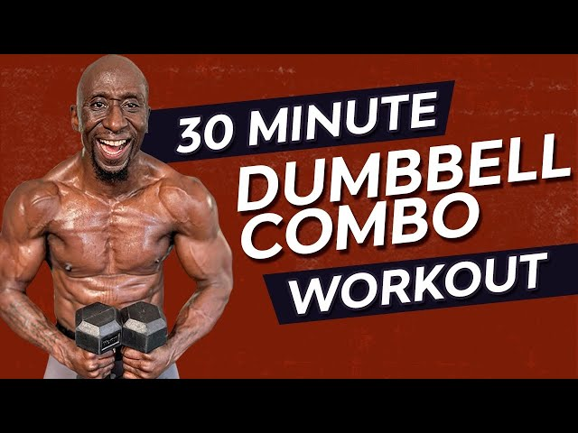30 Minute Dumbbell Combo Workout | Muscle Building | Fat Loss