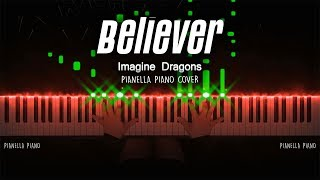 Imagine Dragons - Believer | Piano Cover by Pianella Piano видео