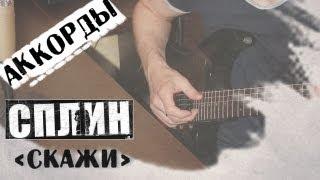 Скажи аккорды Сплин под гитару 🎸 cover Say