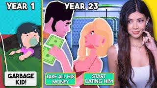 Birth to Death 🧍♀️ GIRL Edition 100 Years Life Simulator NEW UPDATE screenshot 4