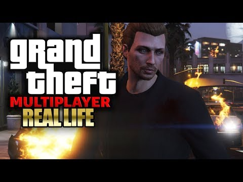 Auf offener Straße erschossen 🎮 GTA 5: REAL LIFE (Roleplay) #063