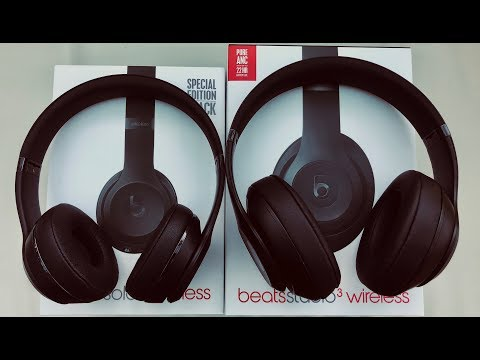 Beats solo3 wireless bluetooth on-ear headphones with mic/remote gloss black