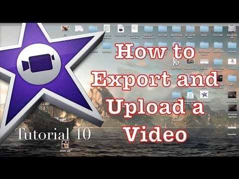 How to Export in iMovie 10.0.1 #1 | Tutorial 10