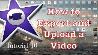 How to Export in iMovie 10.0.1 #1 | Tutorial 10 thumbnail