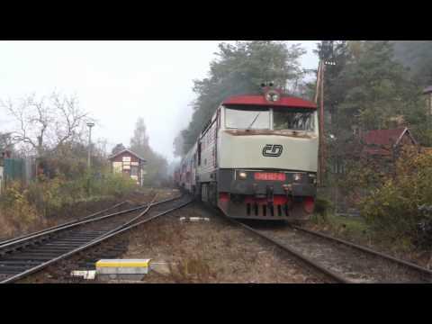 Lokomotivy řady 749 zamračené