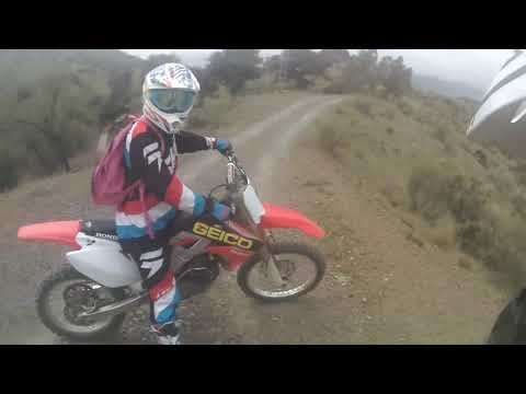 Crf 250 Vs Kx 125 Top Speed Hill Climb & First Ride Crf