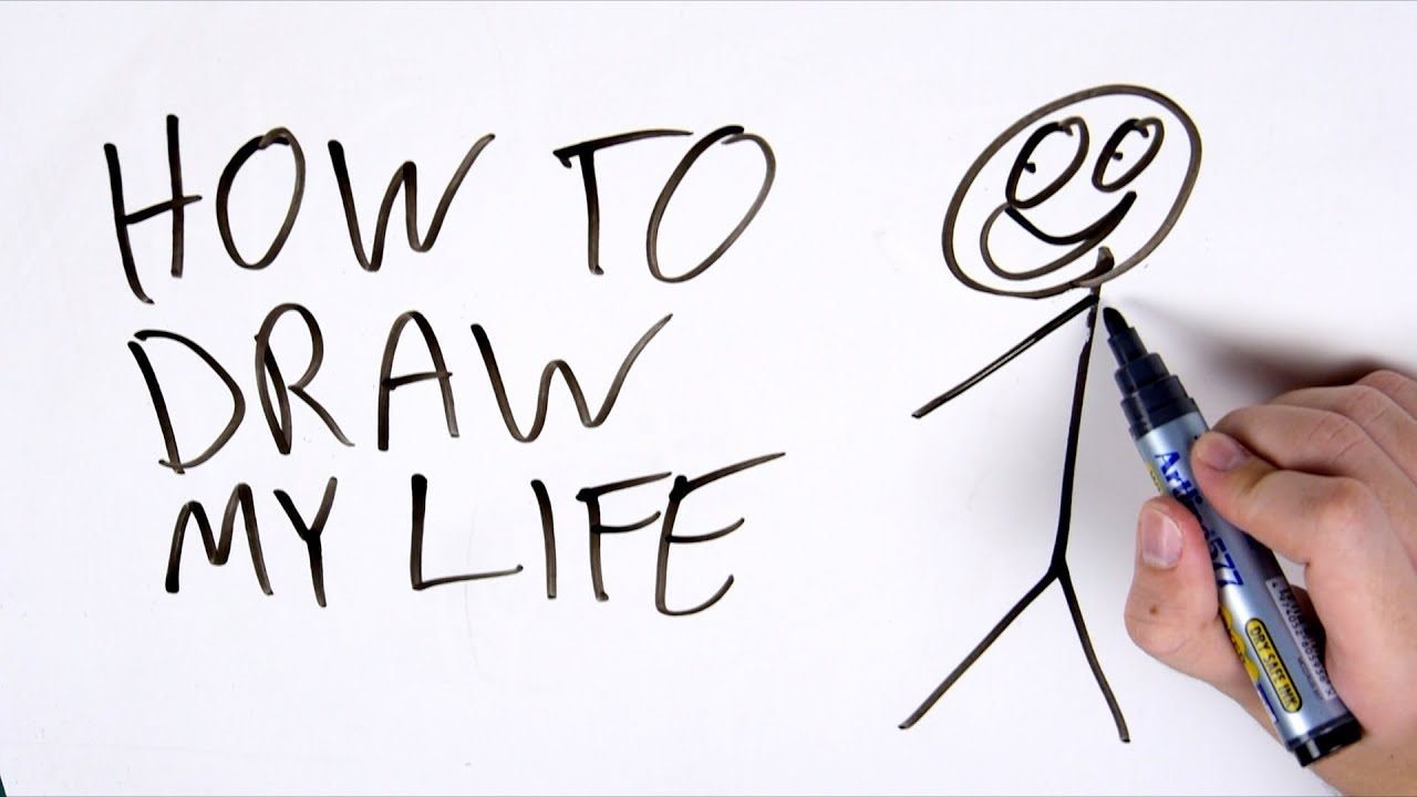 How To Make A Draw My Life Video Youtube