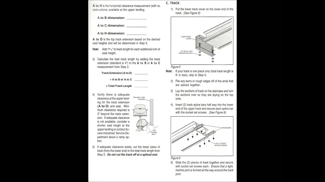 How To Install Stair Lift Select Sl 42 267 210 8499 Pa
