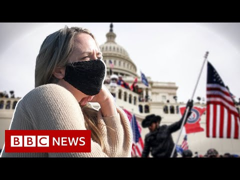 'I'm ashamed my father was a Capitol Hill rioter' - BBC News