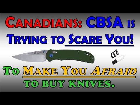 CBSA Attacks CANADIAN Knife Enthusiasts Again! 😠 It is TIME for ACTION!!