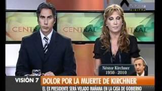 Visión Siete: Falleció Néstor Kirchner (57)